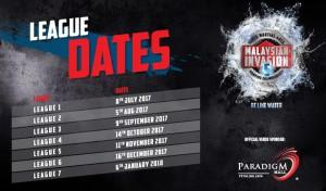 league dates